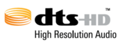 DTS-HD High Resolution Audio Logo